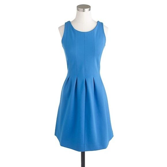 J. Crew Dresses & Skirts - J. Crew Pleated Flare Dress in Brilliant Sea